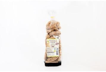 Bio Emmer-wheat (Triticum Dicoccum) rusk